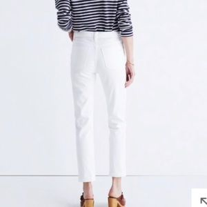 Madewell Jeans - MADEWELL - Straight Cropped White Jeans - Size 32